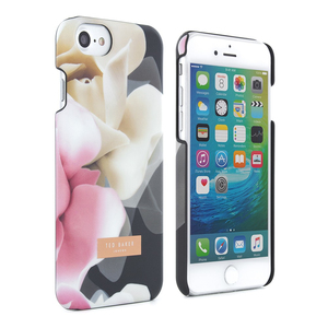 Proporta Ted Baker Annotei Shell Case Porcelain Rose Black iPhone 7