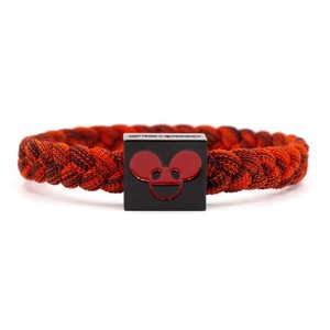 Electric Family Deadmau5Black/Red Bracelet