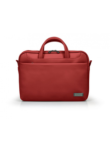 Port Deisgns Zurich Toploading Case Bag Red Fits Laptop up to 14-inch