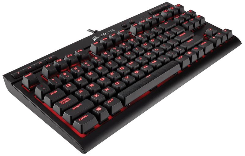 Corsair K63 Red LED Gaming Keyboard