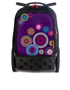 Nikidom Roller Black/Mandala Trolley Bag