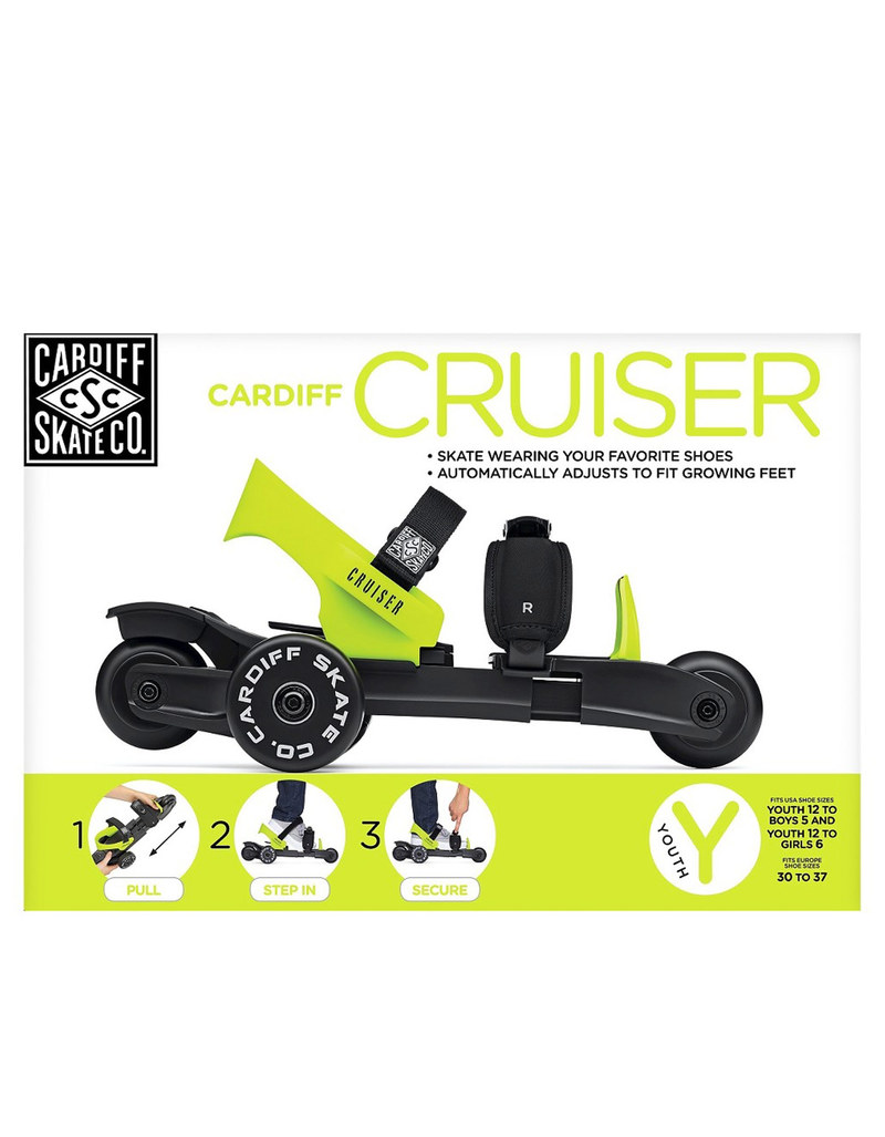 Cardiff Cruiser Youth Lime Black/Lime