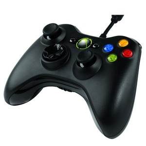 Wired Controller Black Xbox360