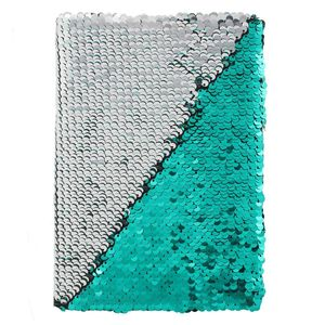 Something Different Mermaid Reversible Sequin Notebook