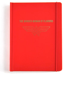 Wonder Woman Classic Humour A5 Deboss Planner