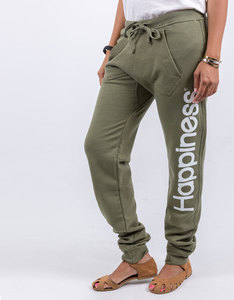 Happiness Army Drop-Crotch Style Sweatpants