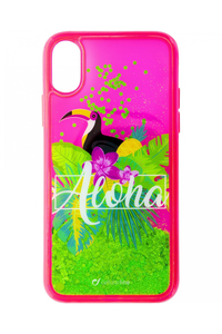 Cellular Line Stardust Aloha Case for iPhone X