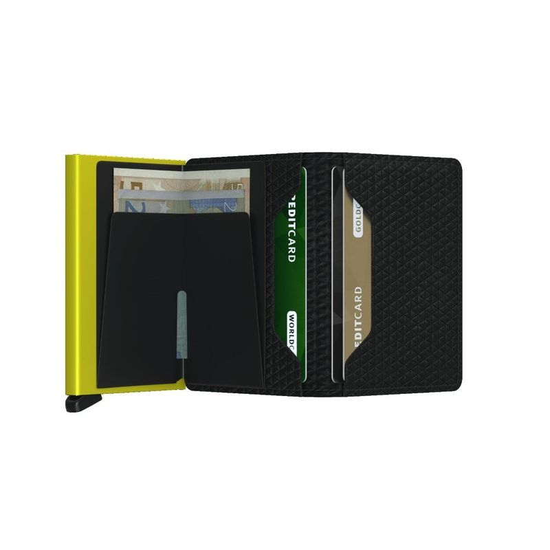 Secrid Slimwallet Leather Wallet Diamond Black