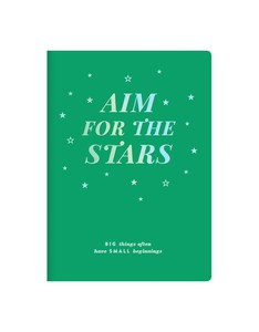 Galison Aim For The Stars Writer's Undated Planner