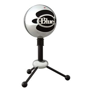 Blue Snowball Brushed Aluminum USB Microphone