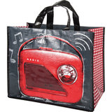 Orval Creations Shopping Bag Design Rouge Ardoise Red