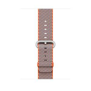 Apple Spicy Orange Check Woven Nylon for Apple Watch 42mm