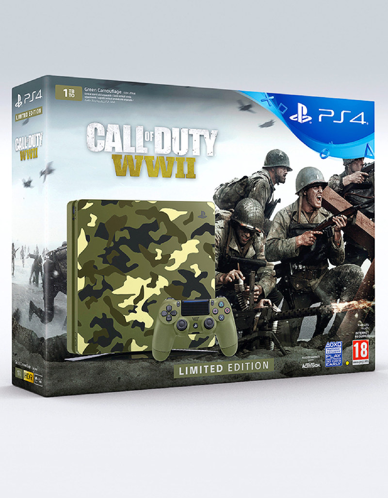 Sony PS4 1TB 7116B Call Of Duty WII Limited Edition Console