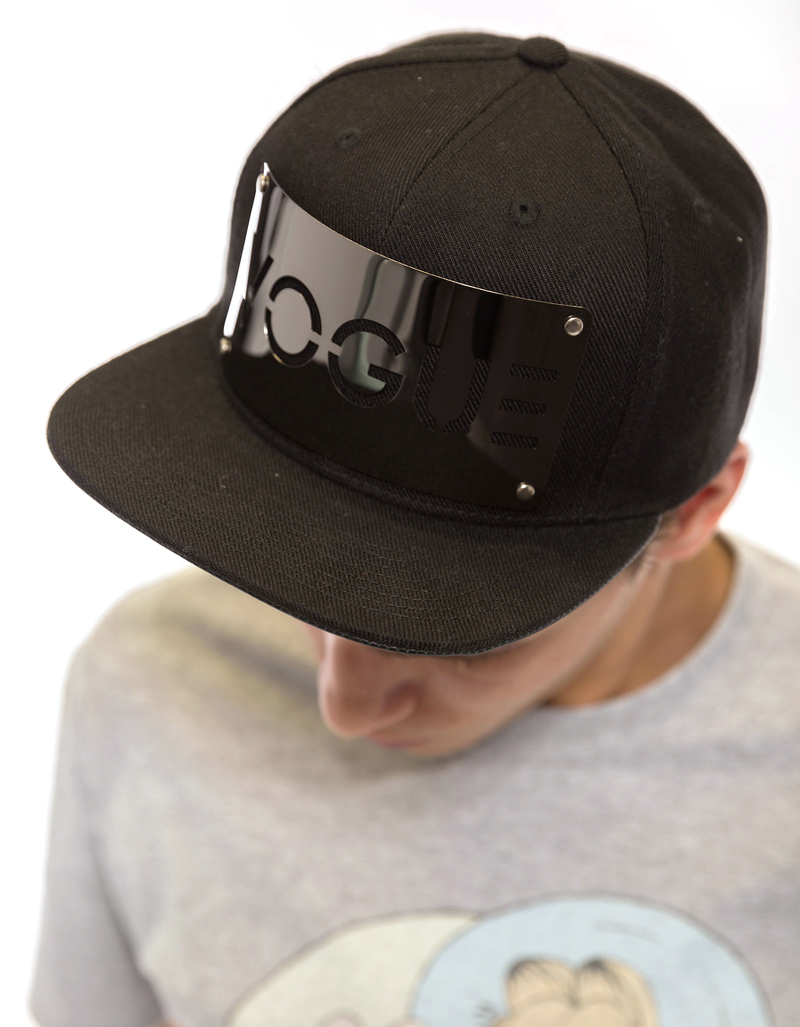 Karl Alley Vogue Gun Metal Snapback Cap