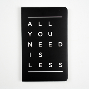 Letternote All You Need Is Less Vivid Series Notebook