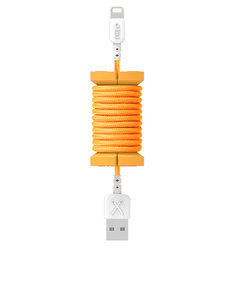 Philo Lightning Cable Orange 1M And Spool