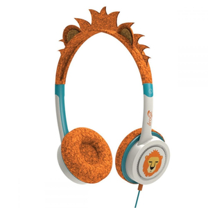 iFrogz Little Rockers Costume Orange Lion Headphones
