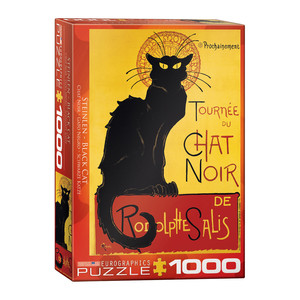 Eurographics Tournee Du Chat Noir/Theophile by Alexandre Steinlen Jigsaw Puzzle [1000 Piece]