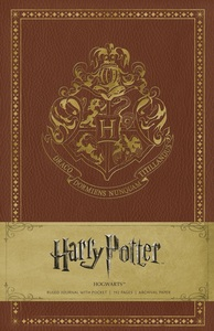 Harry Potter Hogwarts Hardcover Ruled Journal
