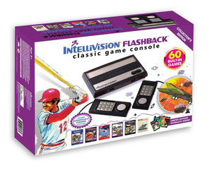 IntelliVision Flashback Classic Console With Built-In 60 Games