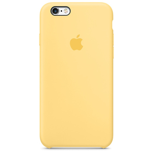 Apple Silicone Case Yellow iPhone 6/6S