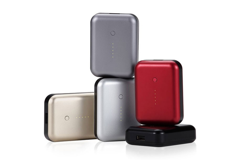 Just Mobile Gum++ Portable Usb Power Pack 6000Mah Red