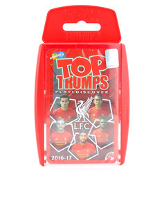 TOP TRUMPS LIVERPOOL FC CARD GAME ENGLISH & ARABIC