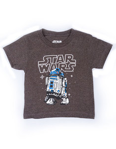 Mad Engine Star Wars 8 Bit D2 Charcoal Heather Toddler T-Shirt