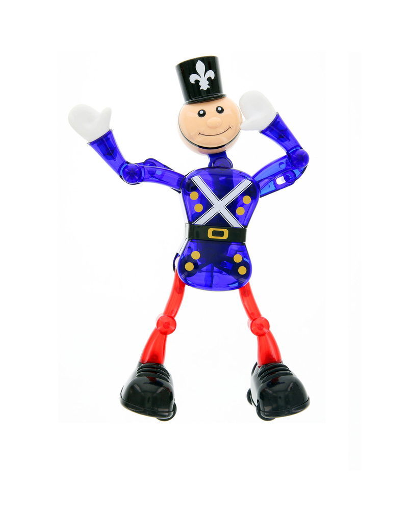 Classic Soldier Blue Wind-Up Toy