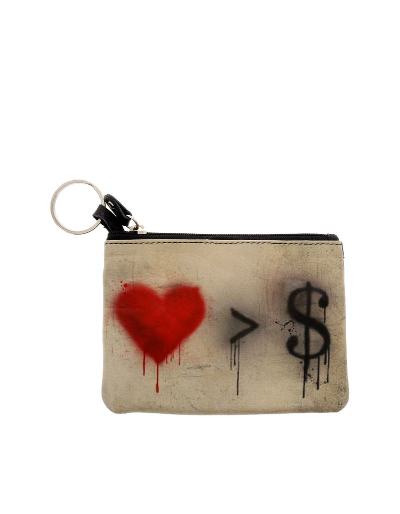Love Is Greater Than Money Coin Purse