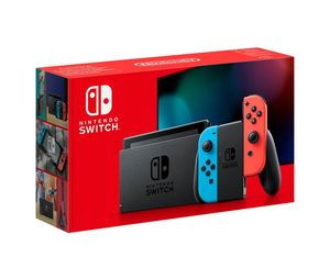 Nintendo Switch V2 Console with Neon Joy-Con