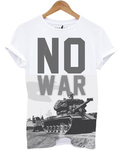 Distinkt Youth No War White Unisex T-Shirt