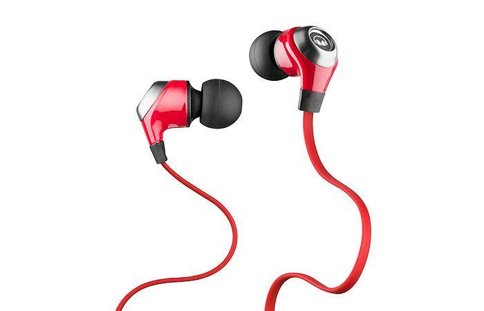 Monster Nlite Noise Isolating Red In-Ear Earphones