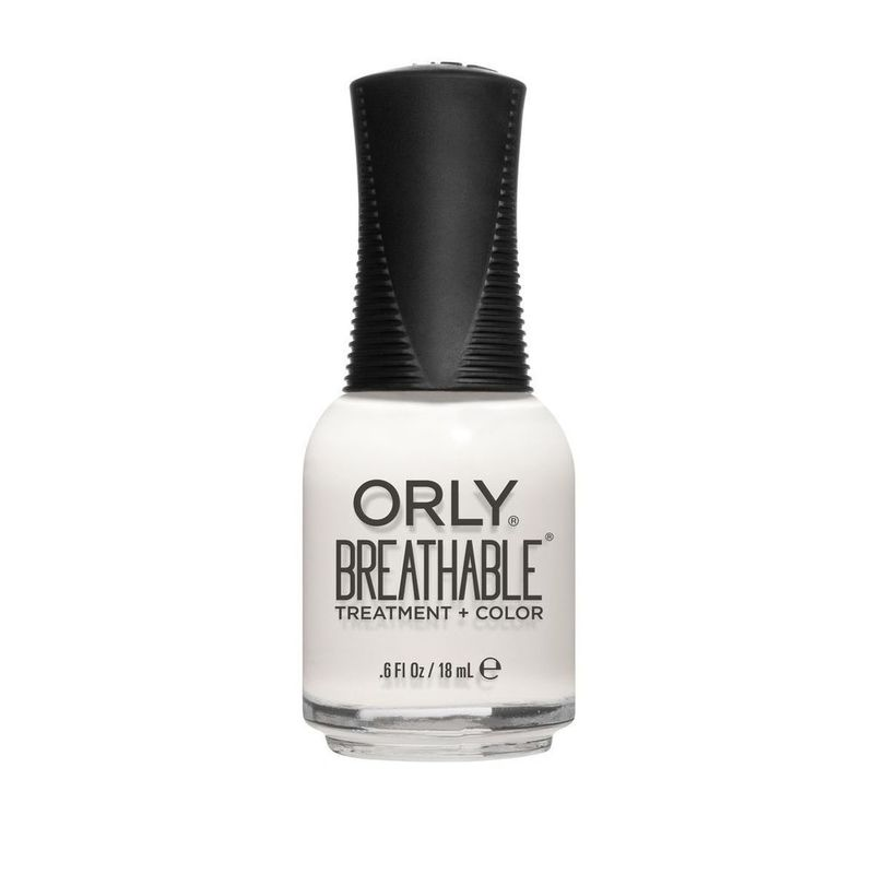 Orly Breathable Nail Treatment + Color White Tips 18ml