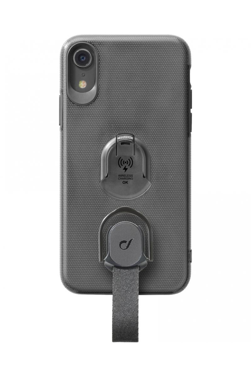 huge selection of 0fbb5 37e63 CellularLine Case Black with Fingerloop for iPhone XR