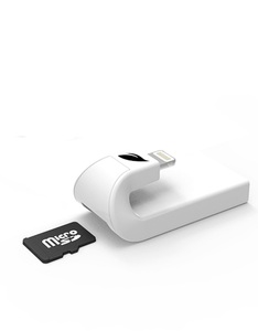 Leef iAccess iOS Micro SD Card Reader White