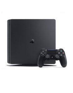SONY PS4 SLIM 1TB JET BLACK CONSOLE