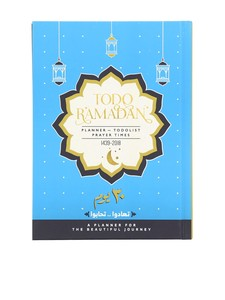 Mofkera To-Do Ramadan Planner Gift Pack 2018 [U.A.E. Prayer Times]