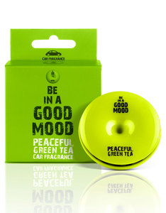 Good Mood Peaceful Green Tea Car Fragrance 0.52 Oz.