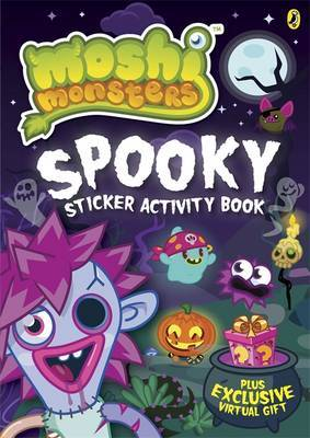 Moshi Monsters: Spooky Sticker Activity Book