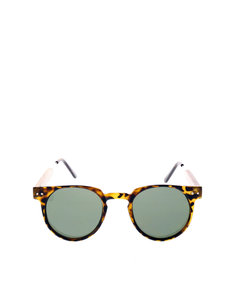 Spitfire Uk Teddyboy#2 Brown Tort/Silver Sunglasses