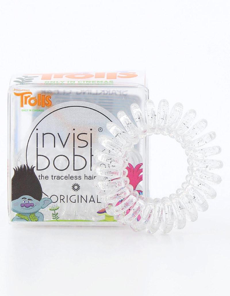 Invisibobble Original Trolls Sparkling Clear Hair Tie  ae04d544ec4