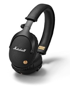 Marshall Monitor Black Bluetooth Over-Ear Headphones
