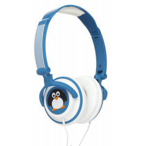 My Doodles Penguin Children'S Character 85Db Volume Limiting Headphones