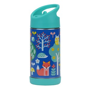 Petit Collage Stainless Steel Water Bottle Woodland 350ml