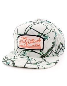 Official Real Tropical Whiteout White/Green Men Cap