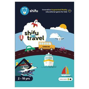 Shifu Travel Educational Interactive AR Card Game for Kids