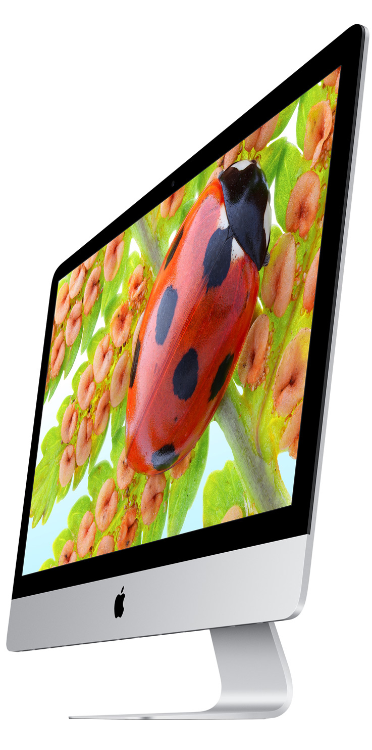 iMac 21.5 4K Retina Quad-Core I5 3.1Ghz/8GB/1TB/Intel Iris Pro 6200 Arabic/English Keyboard