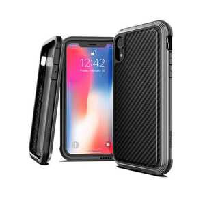 X-Doria Defense Lux Case Black Carbon Fiber for iPhone XR