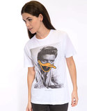 Saint Noir Elvis  Rolled Sleeves Women's T-Shirt